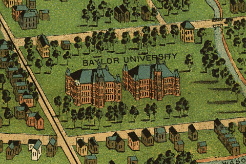 Trace Texas Genealogists have access to family history records at Baylor University Waco Texas 1892
