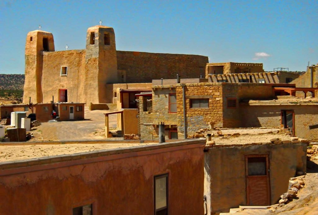 New Mexico traditional buildings