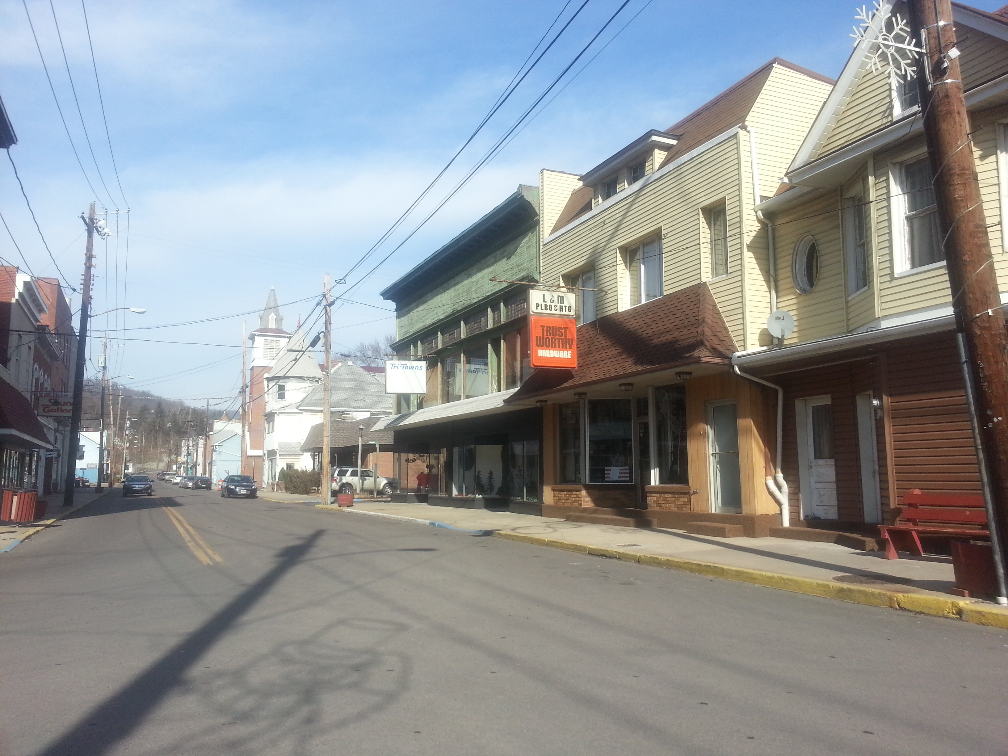 Historic West Virginia town