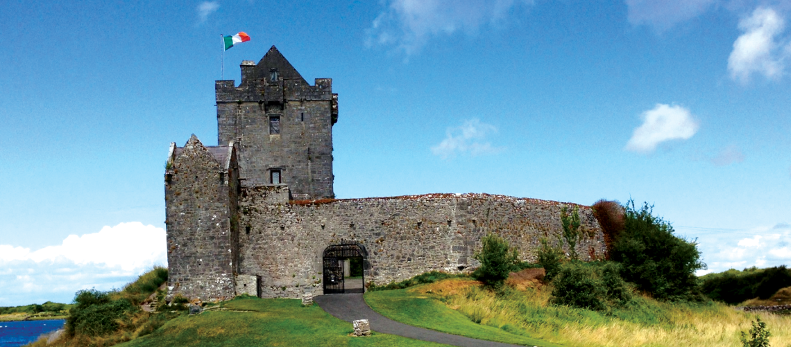 Ireland Castle, Irish family holiday