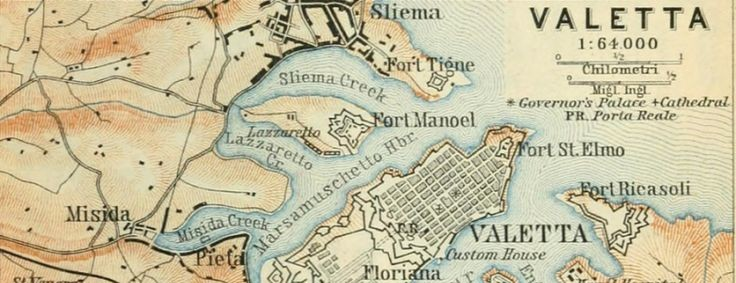 mapping your family tree, Valetta map