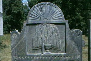 weeping willow urn