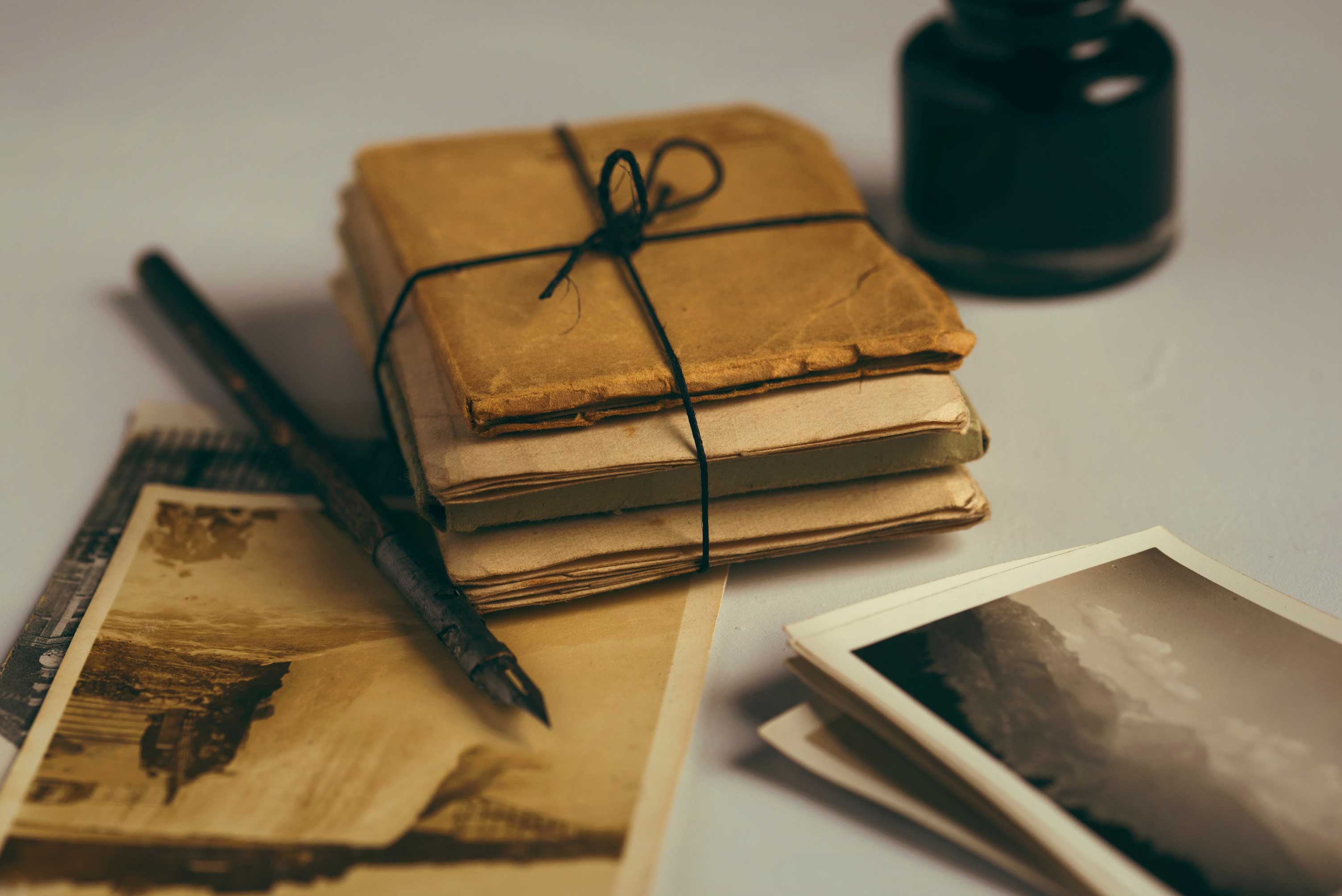 Save Antique Photos, Letters and Documents